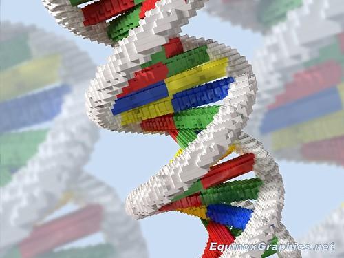 DNA engineering (Lego building blocks)