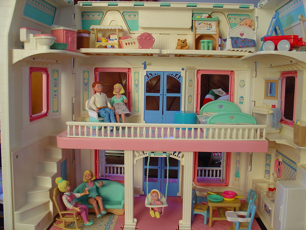 FISHER PRICE DOLL HOUSE FURNITURE : DOLL HOUSE FURNITURE : Fisher Price Doll House Furniture ...