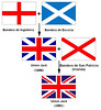 Union Jack's flags
