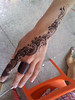 Henna at the Compound We did a