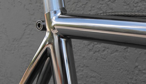 titanium polished or brushed bike forums. Black Bedroom Furniture Sets. Home Design Ideas