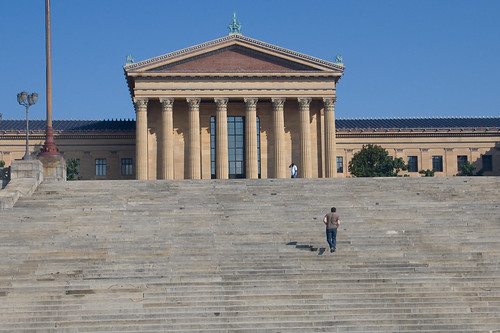 Philadelphia Museum of Arts (Rocky steps)