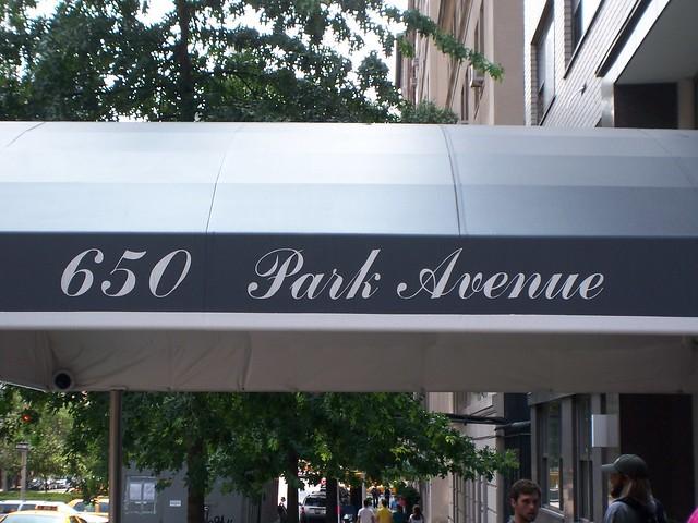 650 park avenue