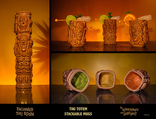New Disneyland Stackable TIKI TOTEM MUG