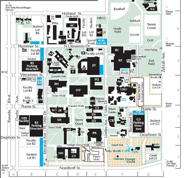 CSUN Map | allisonhata | Flickr