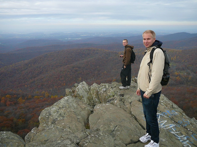 2009-11-01 Hike in the Blue Ridge Mountains
