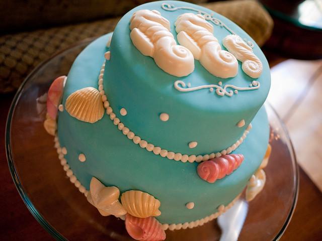 SEAHORSE CAKE - Creative Cake Art