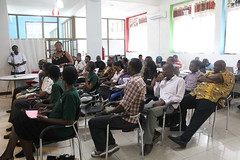Audience during the Media and ICT Forum at Buni Hub