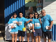 Hawaiian Electric supports Kaiser Permanente's Great Aloha Run - February 20, 2017: Employees & their families celebrate completing the course