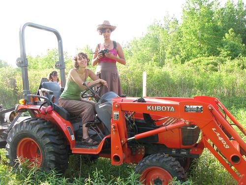 tractor ladies