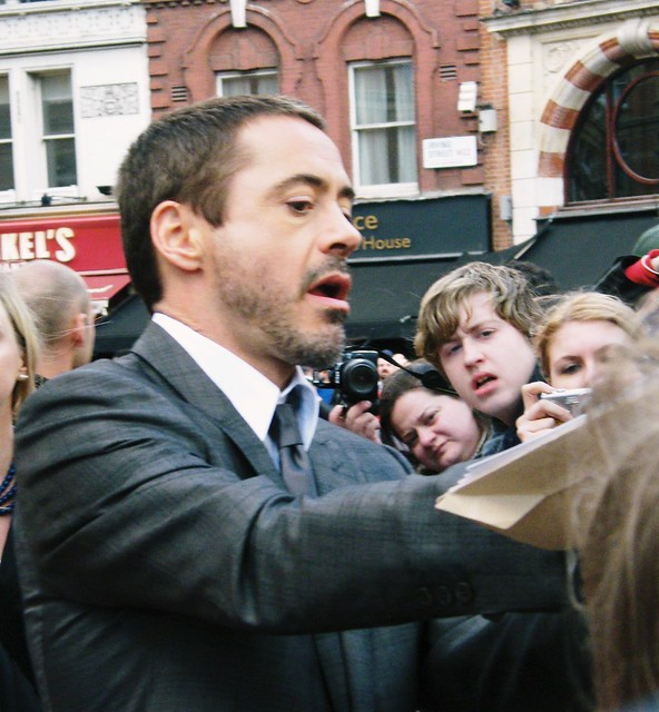 Robert Downey Junior Ironman Premiere | Flickr - Photo ... Robert Downey