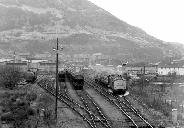 Class 37 37175 Fort william 20/3/84