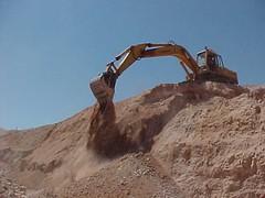 opal mining at Andamooka