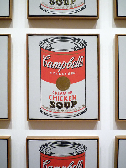 Andy Warhol, Campbell's Soup Cans detail