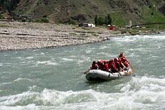 Rafting at Kohnar River Kaghan