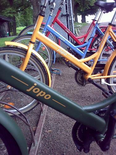 Bicicletas Jopo en distintos colores