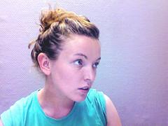 nose(1.0), chin(1.0), face(1.0), hairstyle(1.0), bun(1.0), head(1.0), hair(1.0), ear(1.0), cheek(1.0), brown hair(1.0), eyebrow(1.0), forehead(1.0), eye(1.0), organ(1.0),