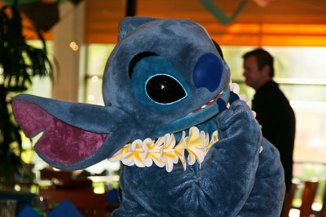disneyland aug 2009 lilo amp stitch aloha breakfast at