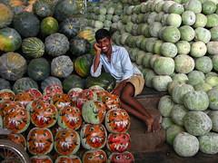 India - Koyambedu Market - Faces 36