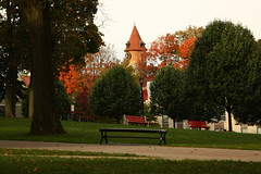 Clock Tower in the Autumn