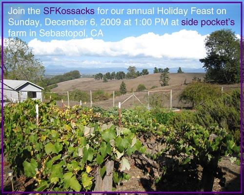 side pockets farm holiday p
