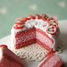 Miniature Food - Pink and White Cherry Cake by PetitPlat - Stephanie Kilgast