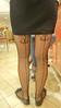 Seamed Stockings, Tattoos & Flats