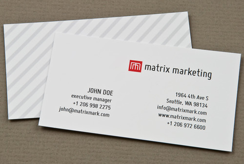 Marketing firm business card flickr photo sharing for Marketing business card