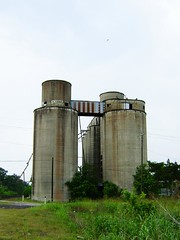 storage tank, building, silo, industry,