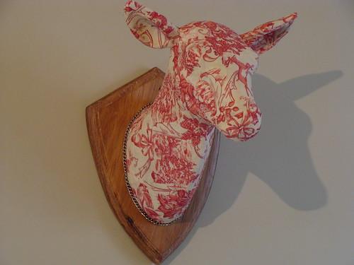 Decorative head of deer
