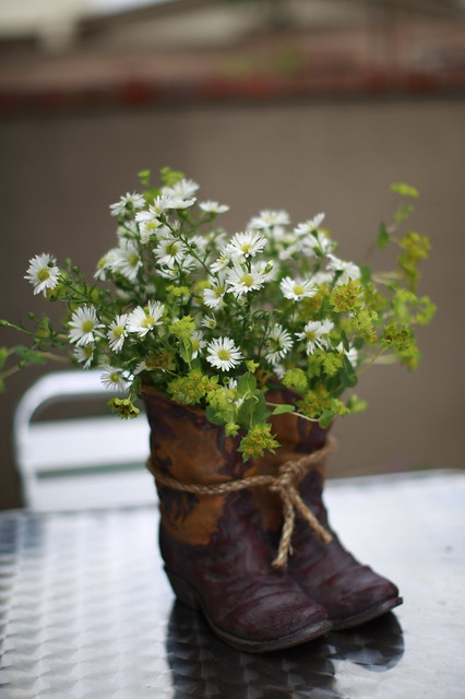 Cowboy Boot Centerpiece Flickr Photo Sharing