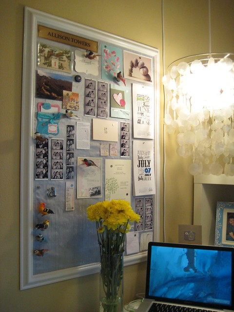 Inspiration & memory board