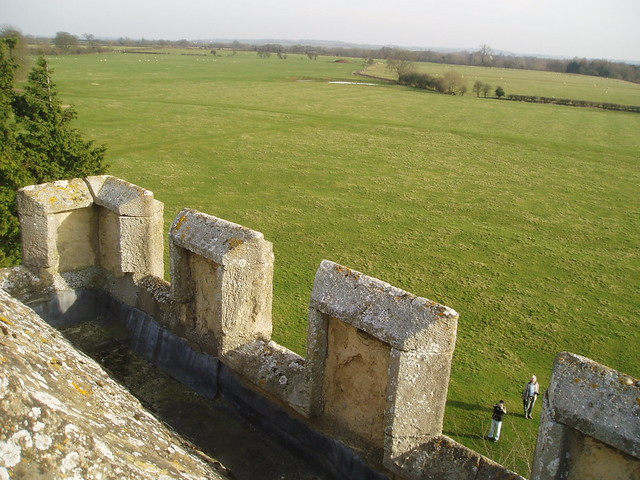View from the top of the tower of Hampton Gay church (one of the most ...