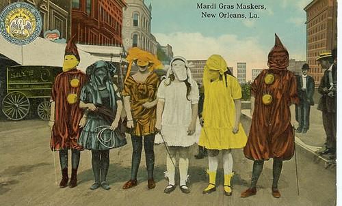 Mardi Gras Maskers, New Orleans, LA