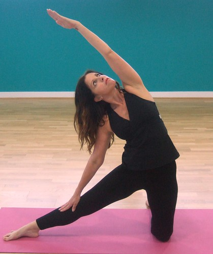 Gate pose (Parighasana)