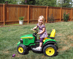 outdoor power equipment, riding mower, vehicle, play, yard, lawn, land vehicle, tractor,