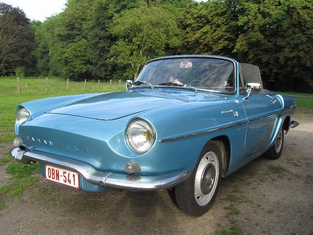 renault caravelle cabrio 1964