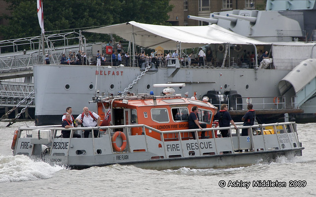 """Fire Flash"" London Fire Brigade boat"