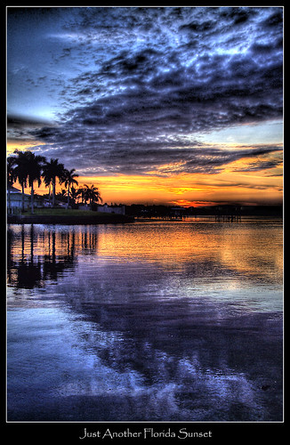 sunset beautiful clouds reflections florida palmtree hdr cloudscape manateeriver coth palmasola abigfave abovealltherest flickrclassique bestofmywinners reflectionslovers shawspoint