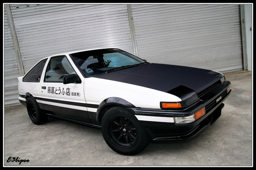 toyota corolla ae86 trueno a photo on flickriver. Black Bedroom Furniture Sets. Home Design Ideas