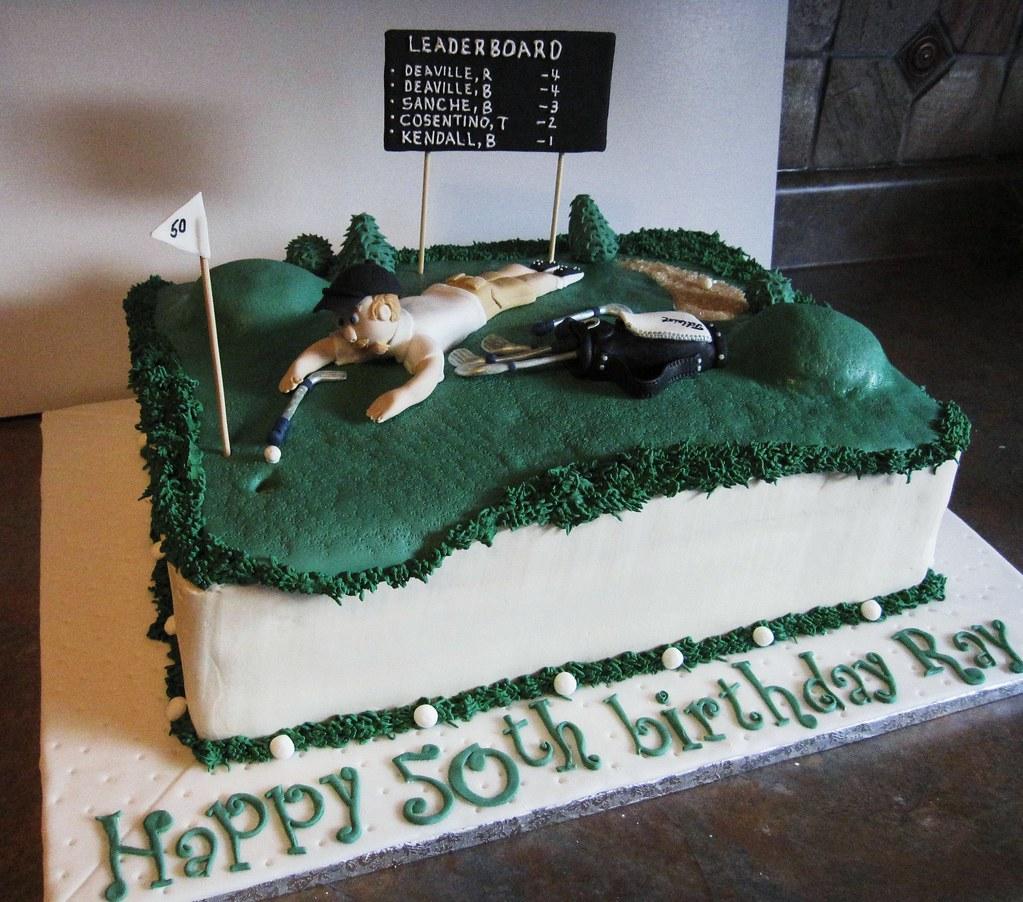 Golf Cake 1