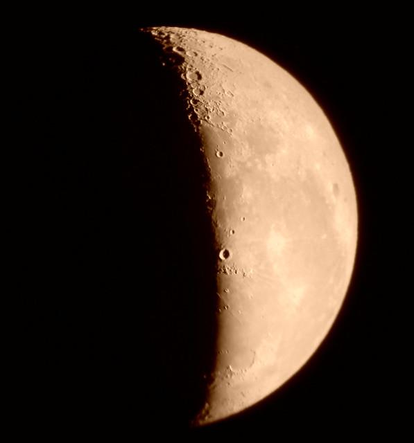Cuarto menguante 13 09 2009 flickr photo sharing for Cuarto menguante de la luna