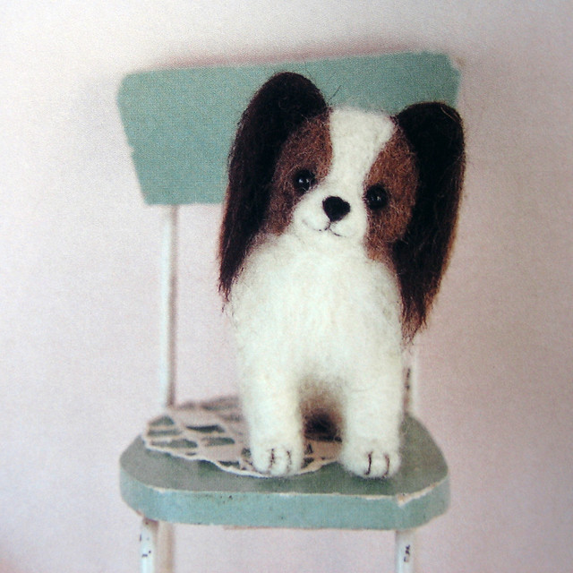 9784277563185 needlefelted small dogs papillion flickr photo