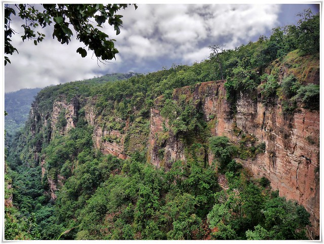 Pachmarhi Landscape with clouds