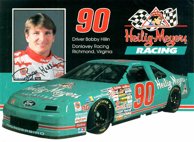 1993 Bobby Hillin Heilig Meyers Furniture Ford Thunderbird Flickr Photo Sharing