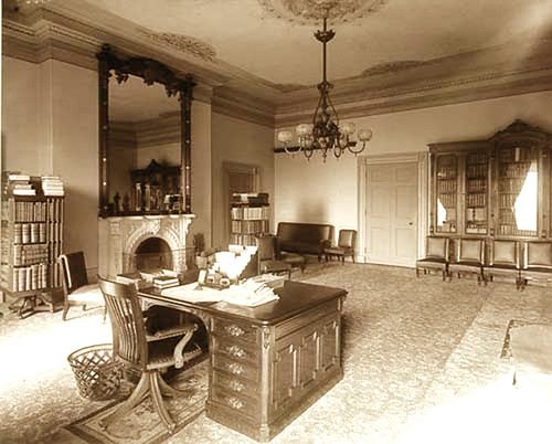 Lincoln bedroom White House 1889