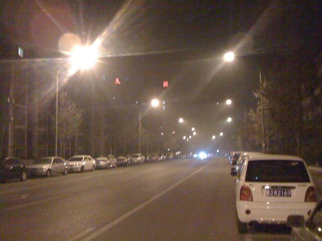 午夜0时的北京