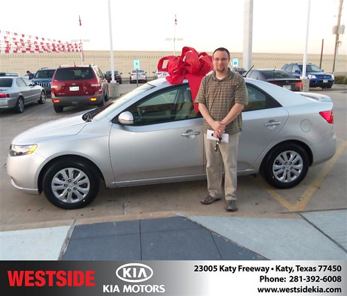 Happy Anniversary to Zachary W Cain on your 2013 #Kia #Forte from Mohammed Ziauddin and everyone at Westside Kia! #Anniversary by Westside KIA