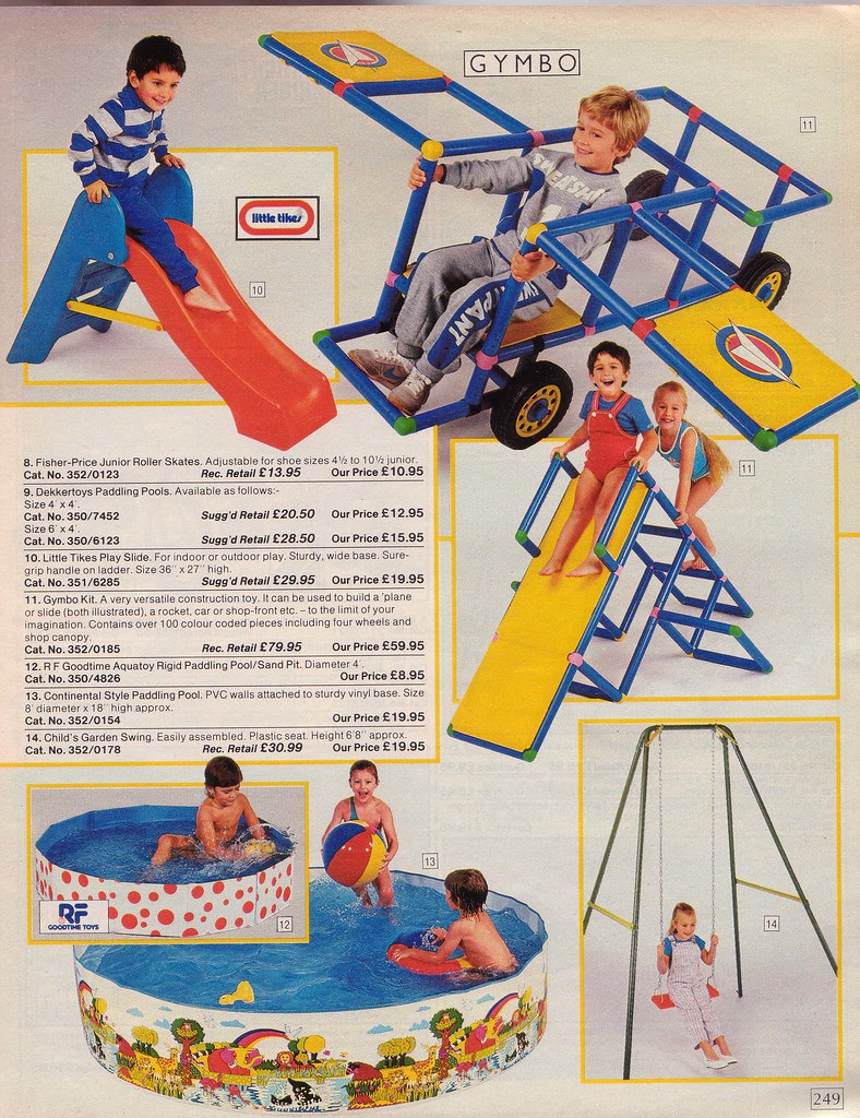 Vintage British Argos 1985 Catalogue