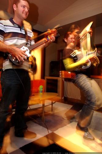 john kiser vs. rachel guitar hero    MG 4950